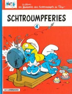 Schtroumpferies Tome 4 De Peyo Club De Lecture Bd En Ligne Caricature