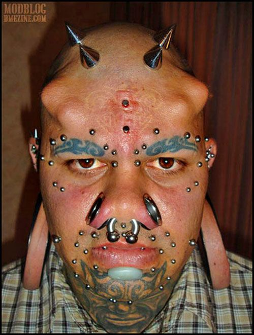 WTF: The Worst Tattoos & Piercing In The World | Wtf face, Body mods, Picture tattoos