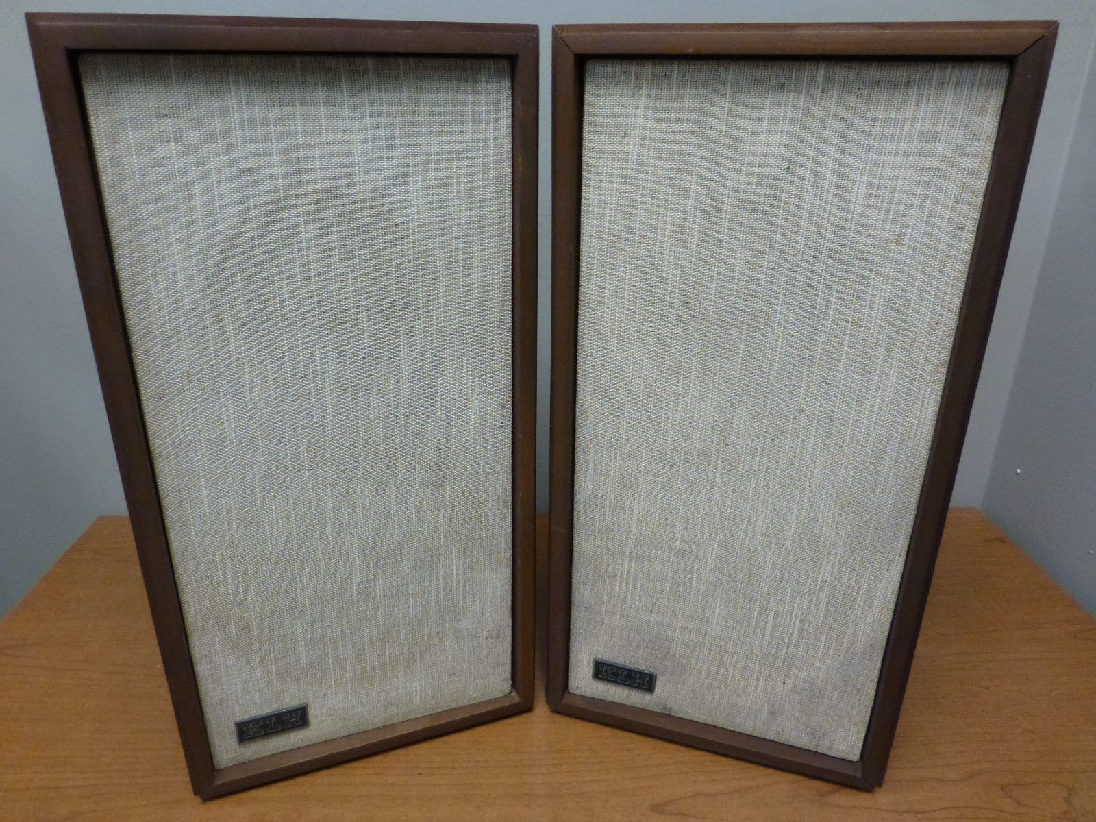 Küchenregal landhausstil ~ Klh model 17 vintage bookshelf speaker walnut pair tested works