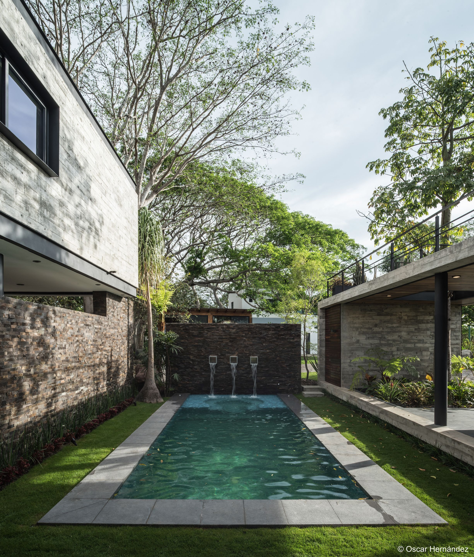 Luxury Home Indoor Pools Residential: Casa Kalyvas By Taller De Arquitectura In 2019