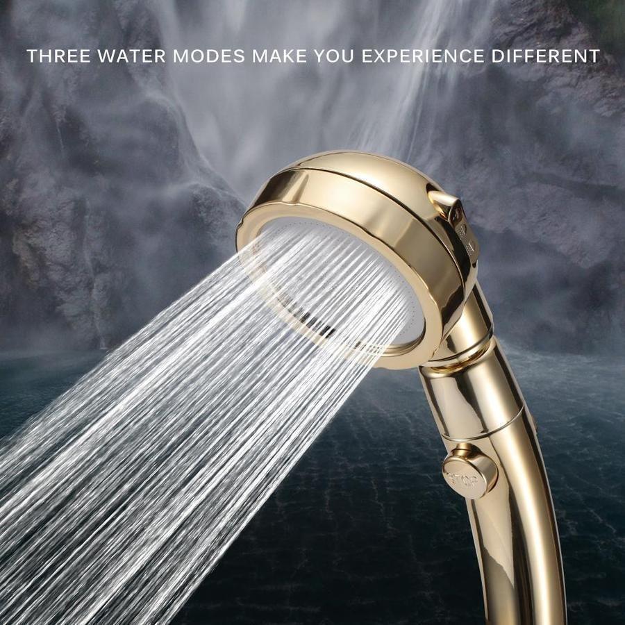 3 in 1 high pressure shower head make every shower