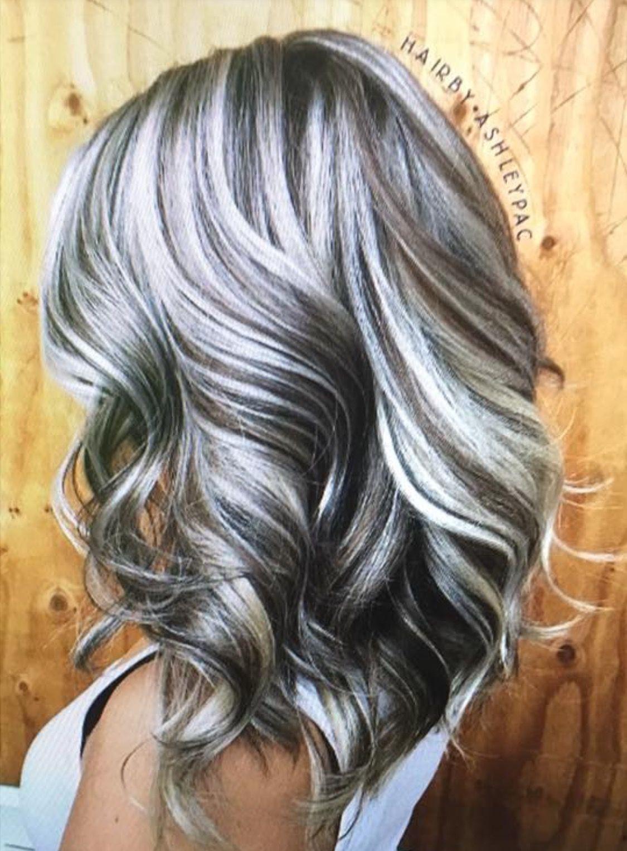 Pin by Laramie Scott on Favorite Hair Styles   Gray hair ...