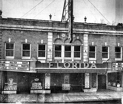 Florida Theater Gainesville Florida Opened In 1928 Date Of