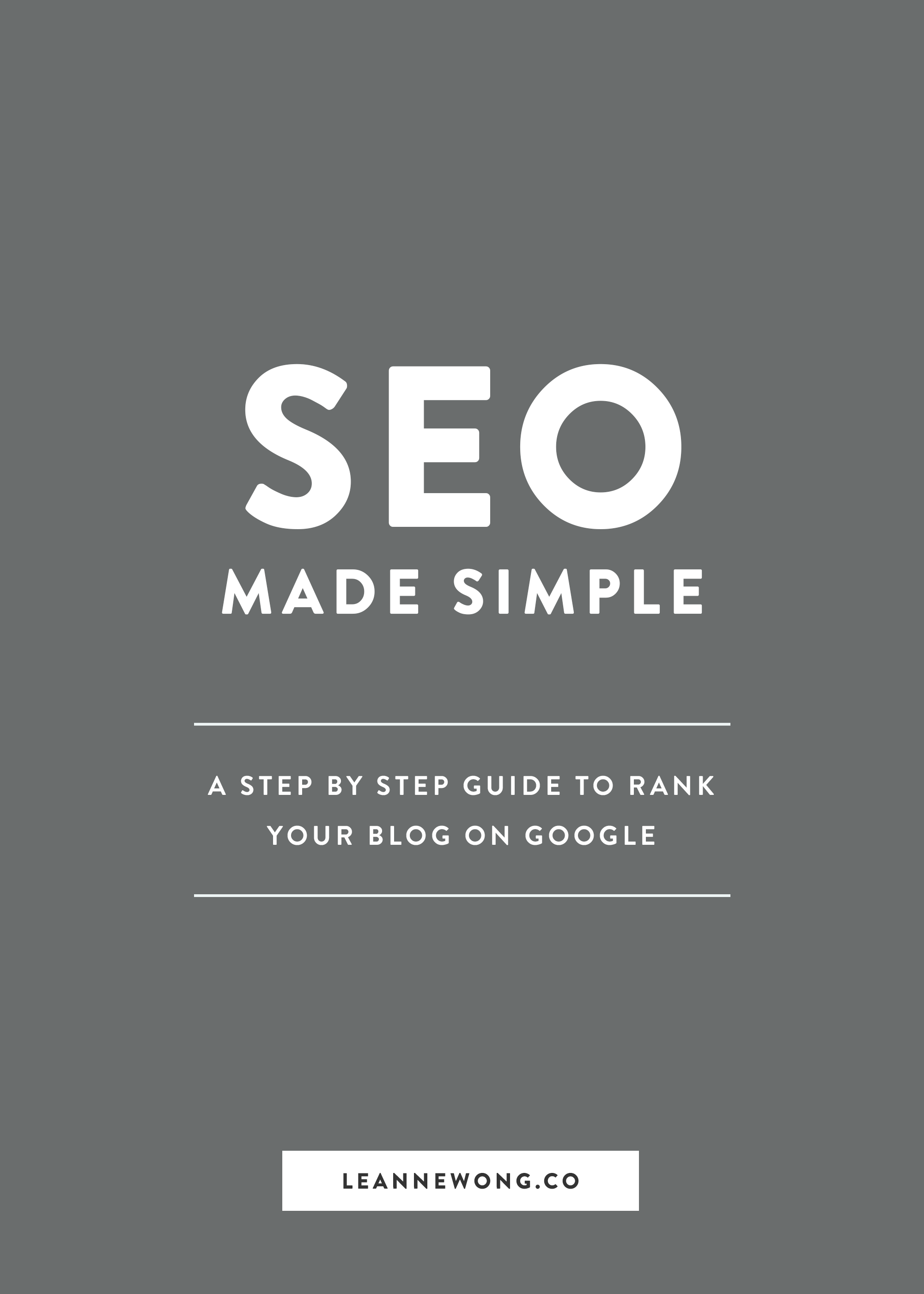 SEO Made Easy: A Step-by-Step Guide to Rank Your Blog on Google
