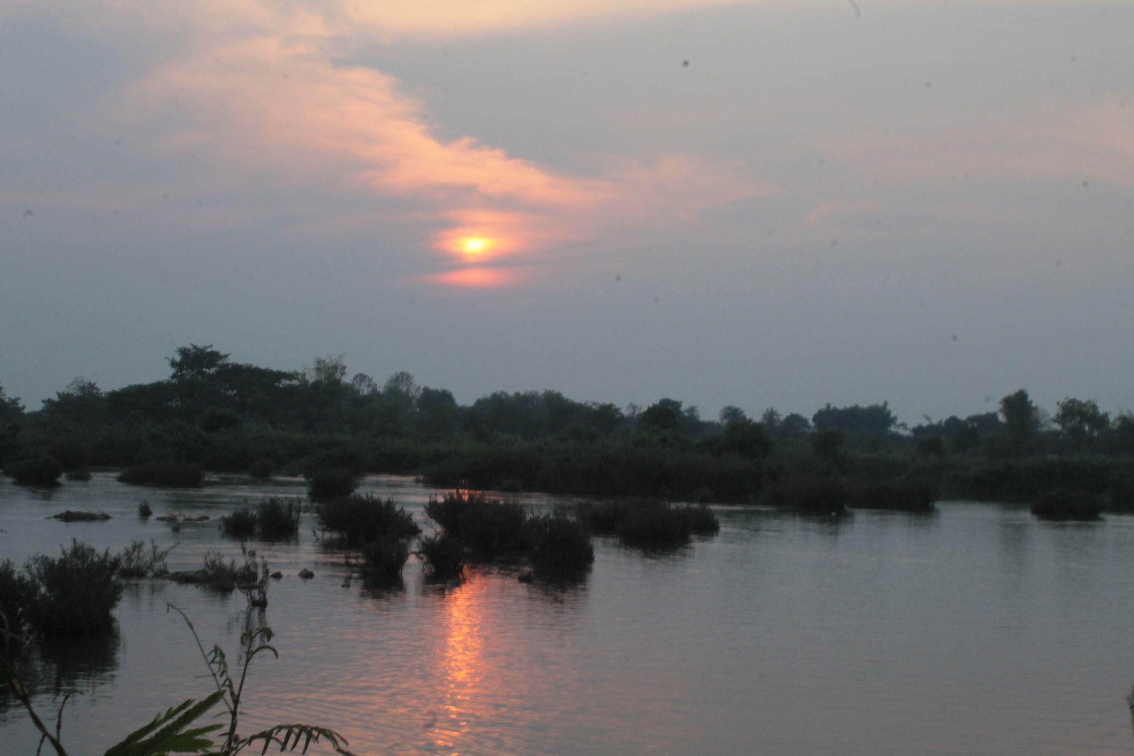 Atardecer Mekong