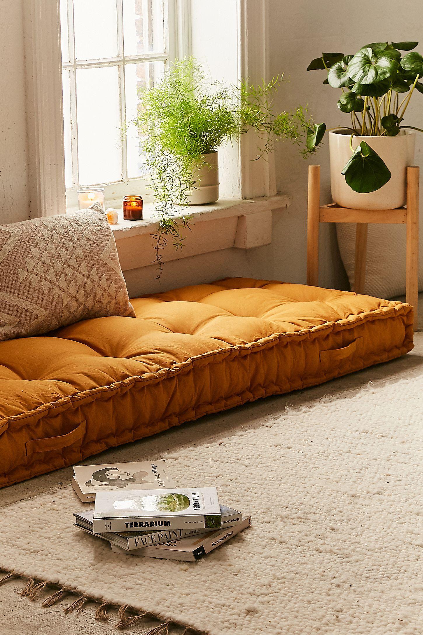 Rohini daybed cushion in yoga lounge area pinterest