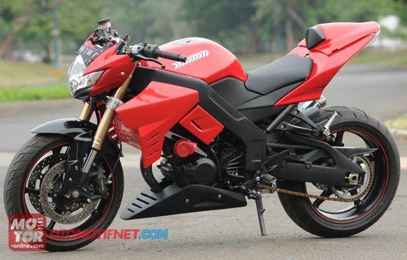 referensi modif ninja 250 streetfighter