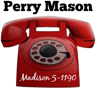 Perry Mason Telephone Number Perry Mason Perry Mason Tv Series Perry