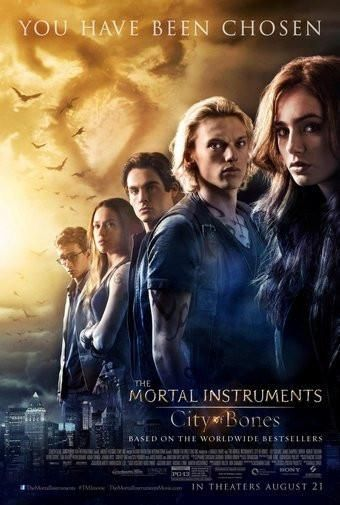 Mortal Instruments City Of Bones Movie Poster Puzzle Fun ...