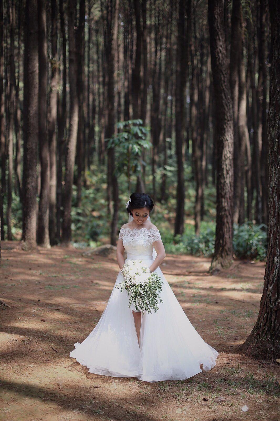 Pernikahan Josephine Dan Barata Di Gunung Pancar Prewedding