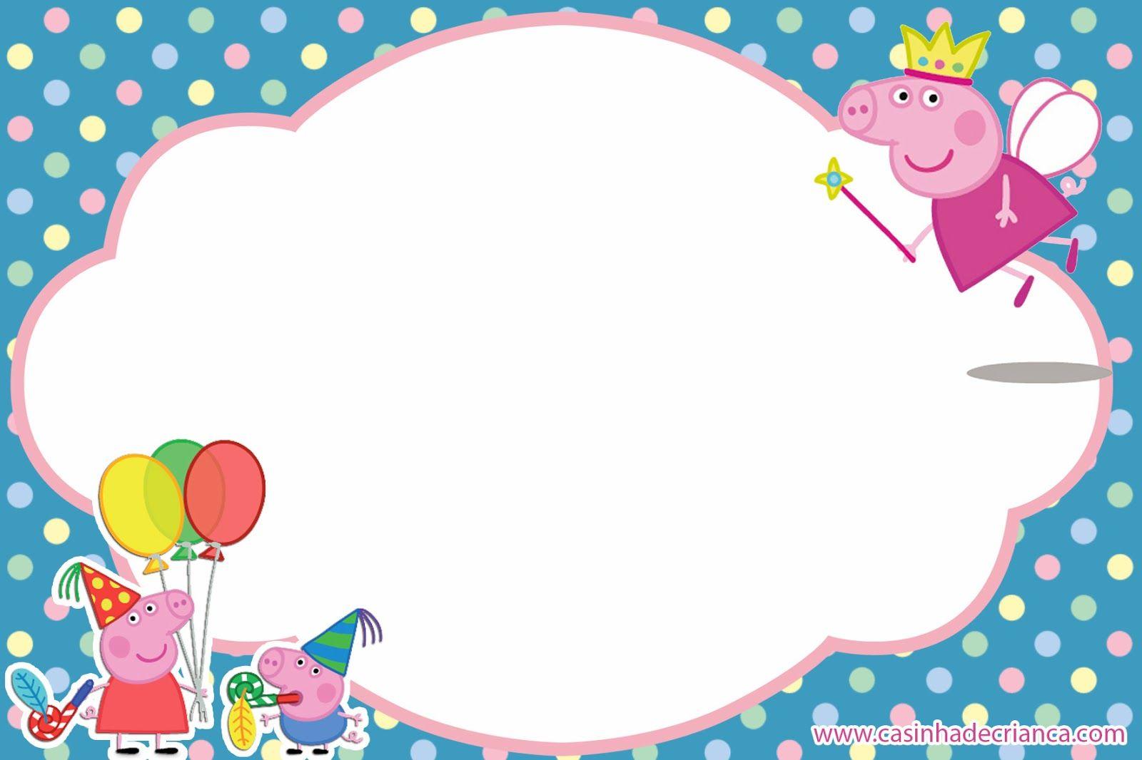 Kit Festa Peppa Pig Para Imprimir Gratis Festa Peppa Pig Festa