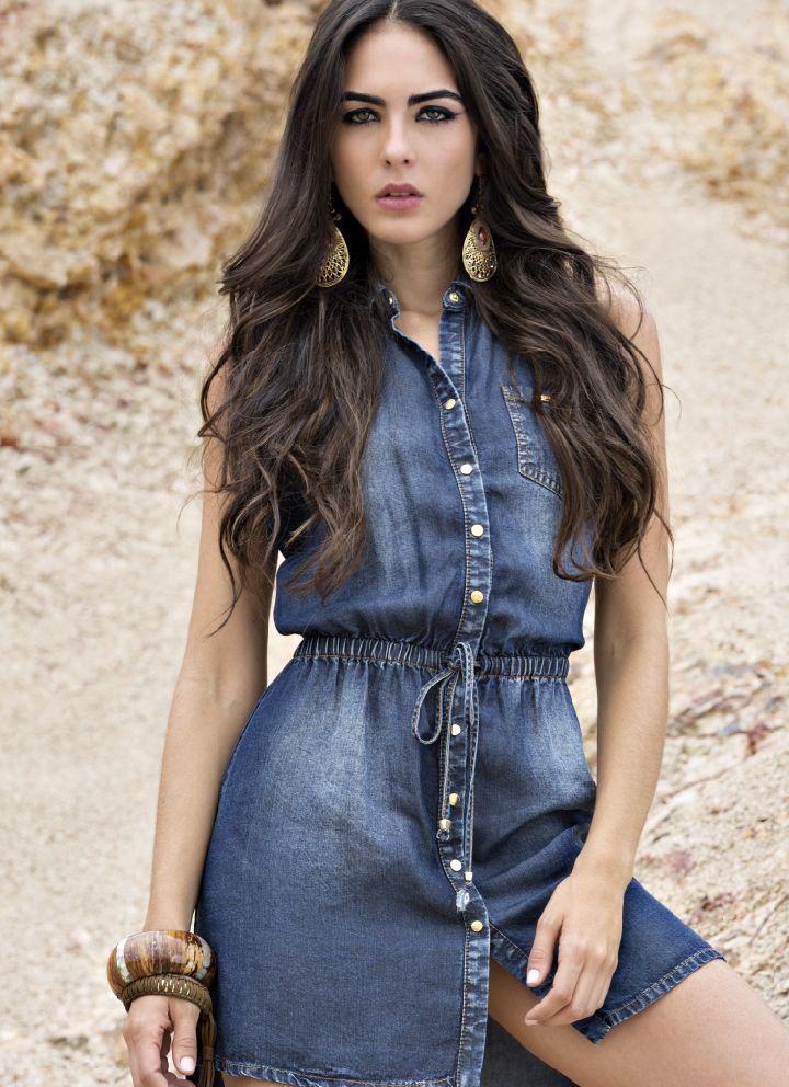 Musthave Denim Dress Un Nuevo Básico De Primavera Vestido