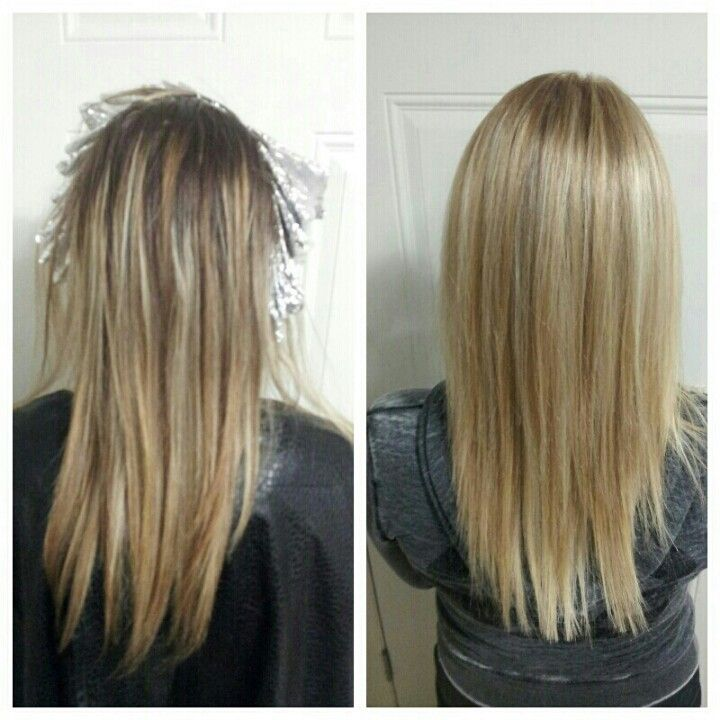 Root Touch Up With Full Head Of Highlights Good Hair Days