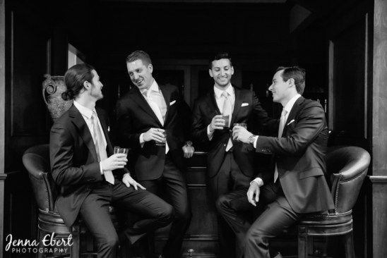 \Well groomed Groomsmen. Photo By Jenna Ebert Photography as seen in Spectacular Bride Magazine. www.spectacularbride.com