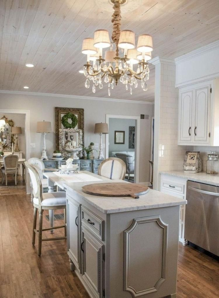 35 BEST FRENCH COUNTRY STYLE KITCHEN DESIGN