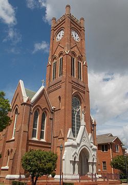 St. Francis Xavier Cathedral (Alexandria, Louisiana) - 1899 Wikipedia, the  free