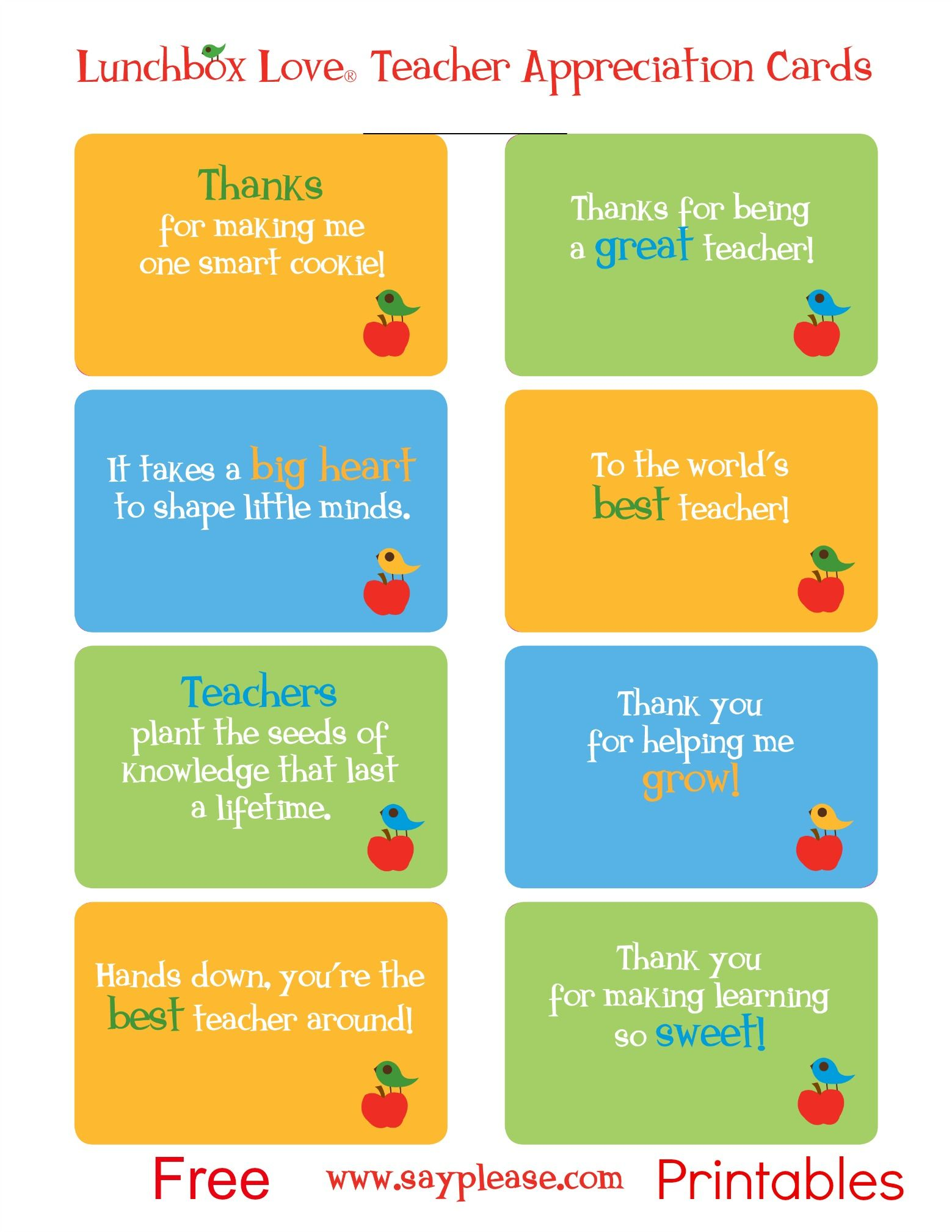 Lunchbox Love Printables Signup