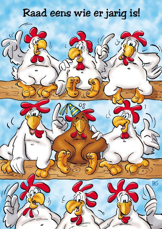 Grappige Citaten Verjaardag : Verjaardag grappige kippen op stok tafeldecoratie