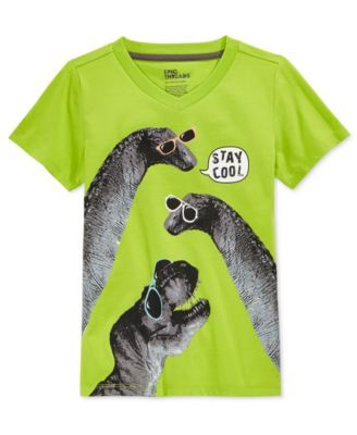 Epic Threads Little Boys' Stay Cool Dino T-Shirt, Only at Macy's ...