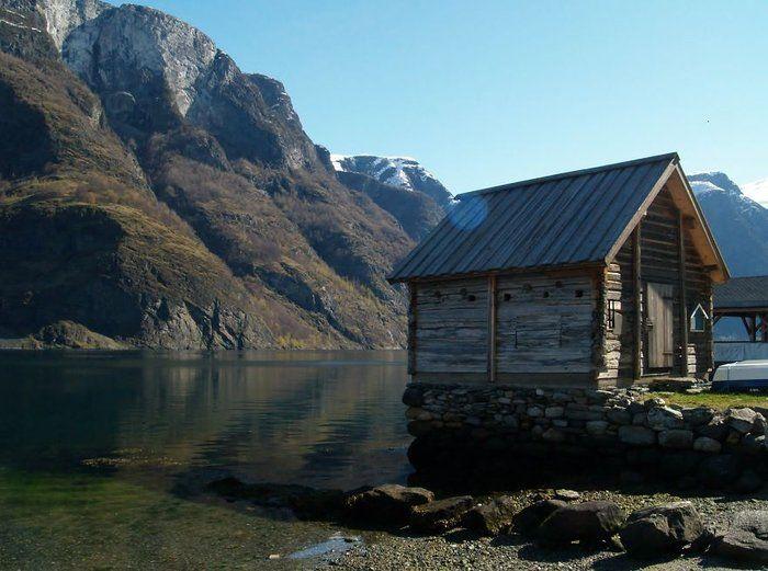 Norveç'in Masalsı Mimarisi Karşısında Gözlerinizi Alamayacaksınız  Balıkçı Kulübesi, Undredal