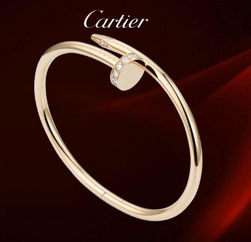 Cartier Juste Un Clou Bracelet Diamonds,trinity cartier ...
