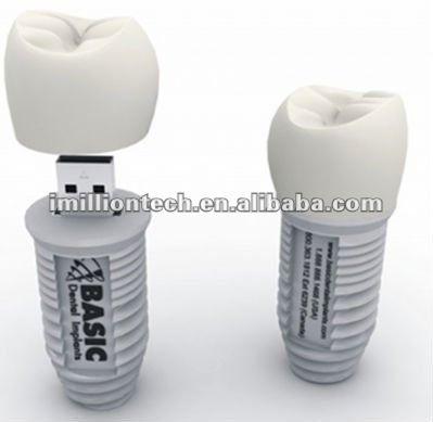 Pendrives SP6088 de memoria Flash del usb de la forma del diente ...