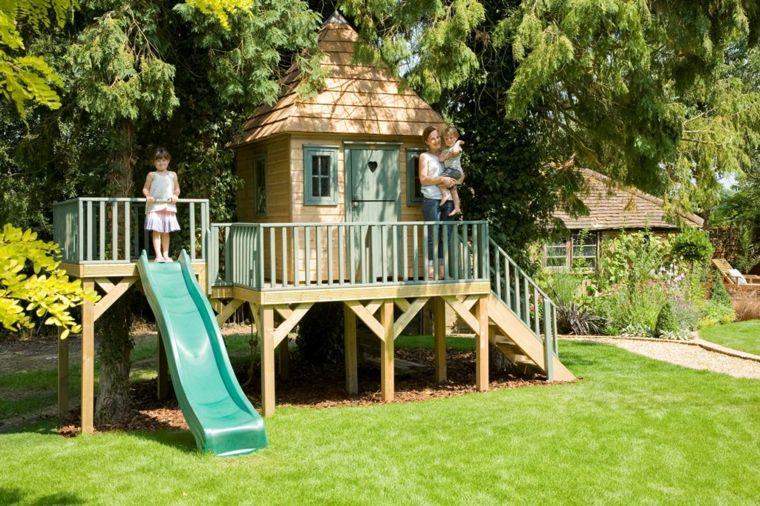 casita de jardín para niños faház gyereknek Pinterest Jardín