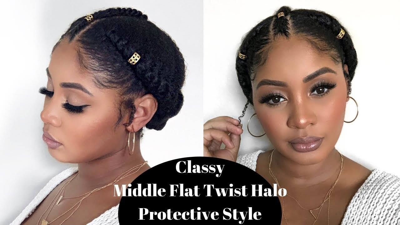 Quick Natural Hair Protective Style -   17 hair Natural look ideas