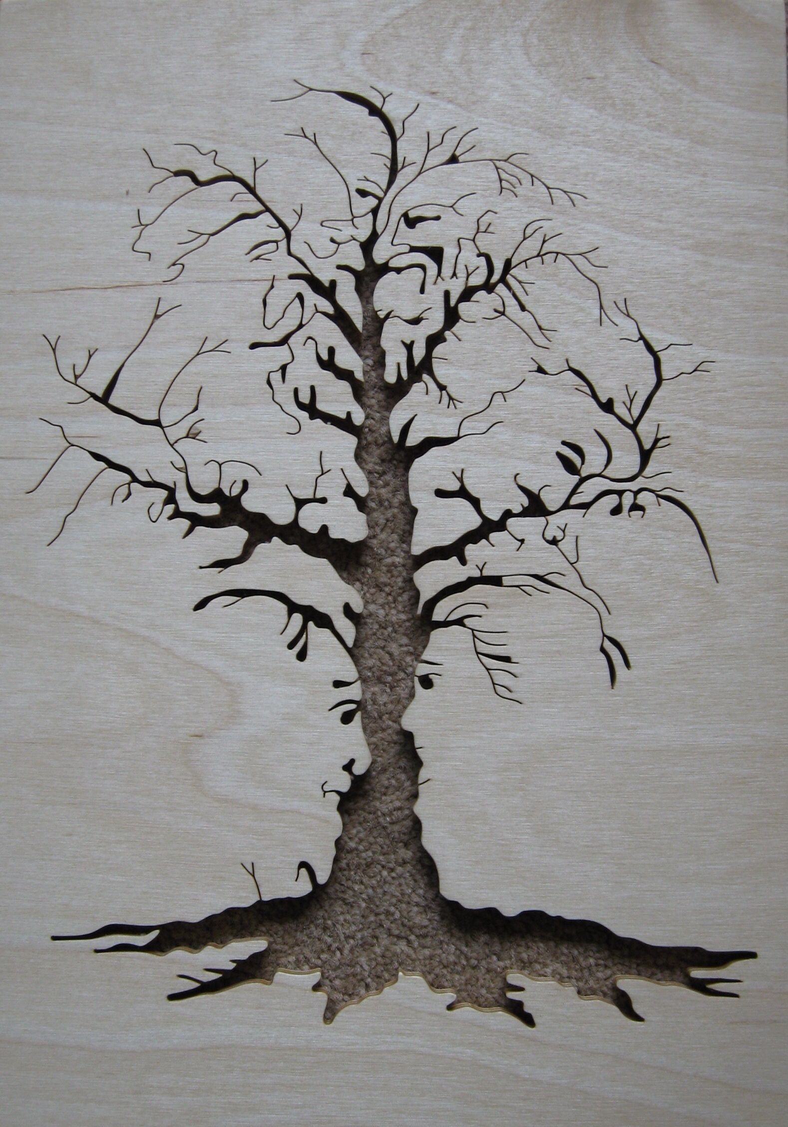 Scrollsaw Tree Faces Scroll Saw Scroll saw patterns