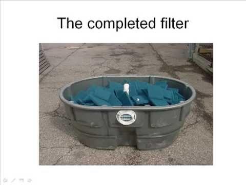 Diy pond filter skippy design video and links garden for Homemade koi pond filter design
