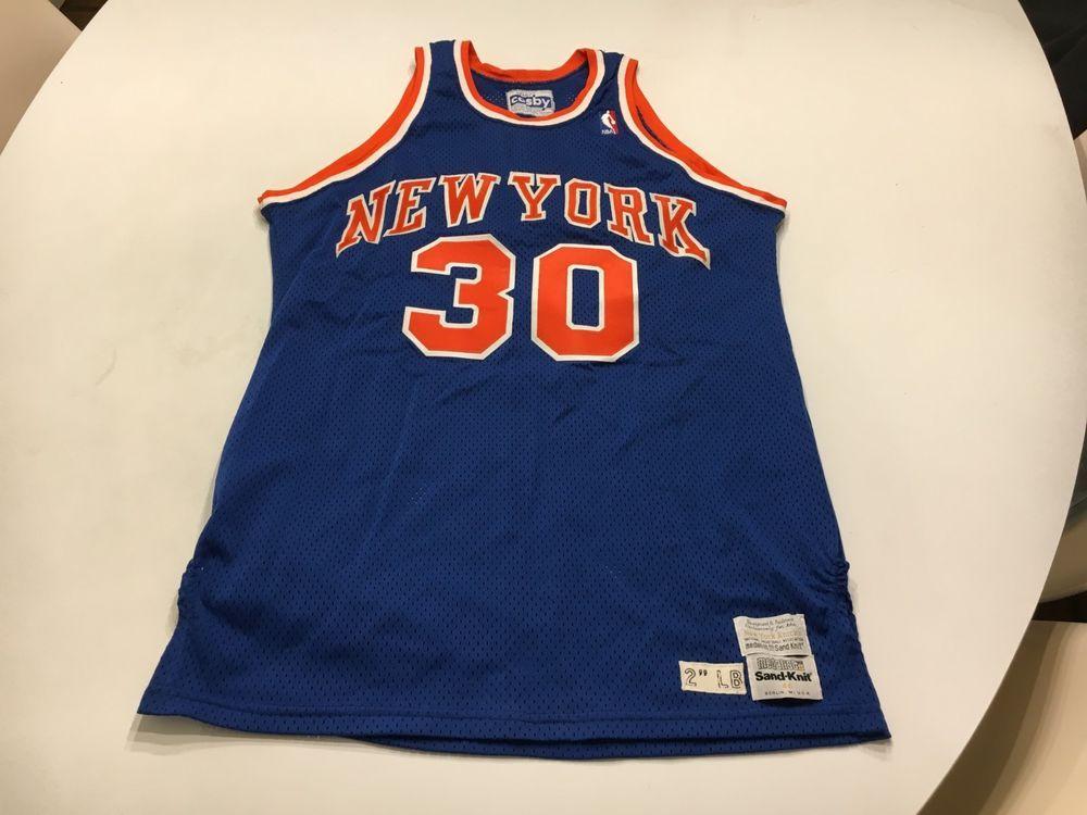 abf239d8af0 orig. early-mid 1980 s BERNARD KING NEW YORK KNICKS GAME WORN BASKETBALL  JERSEY