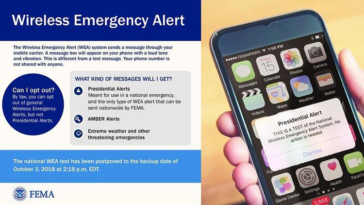 Feds Send First Emergency Message Test To Cell Phones Cnn Politics Free Government Phone Phone Emergency
