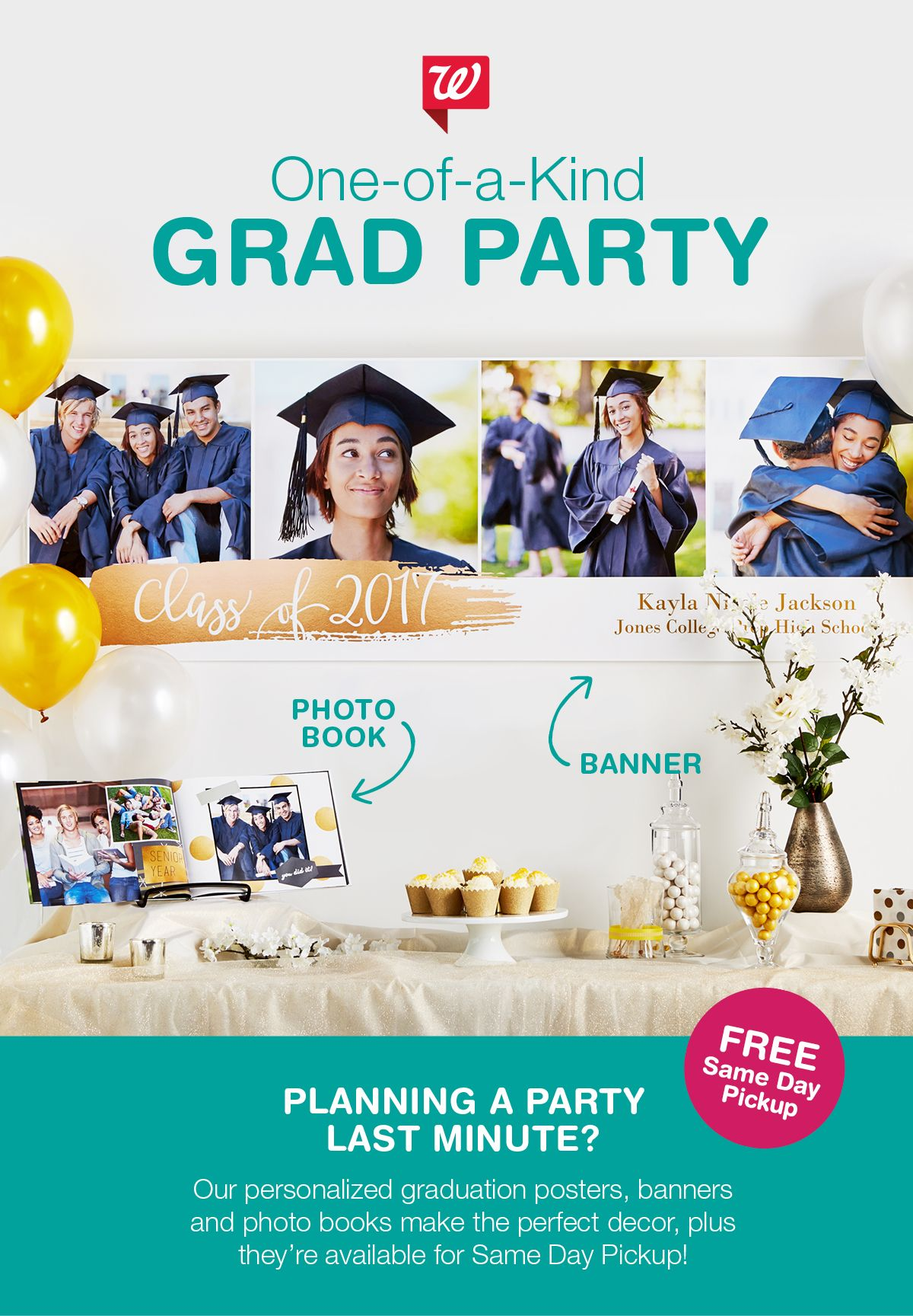 pull off an a graduation party in a snap when you create
