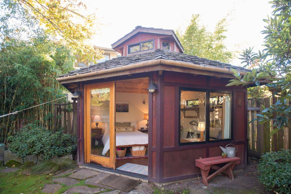 check out this awesome listing on airbnb urban garden studio houses for rent in portland