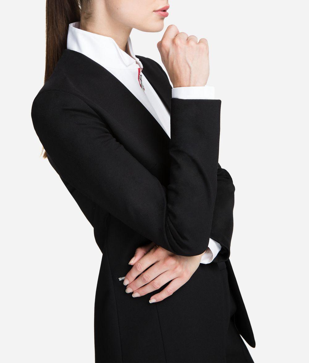 Punto Jacke Mit Logotape | Karl Lagerfeld Kollektionen|von