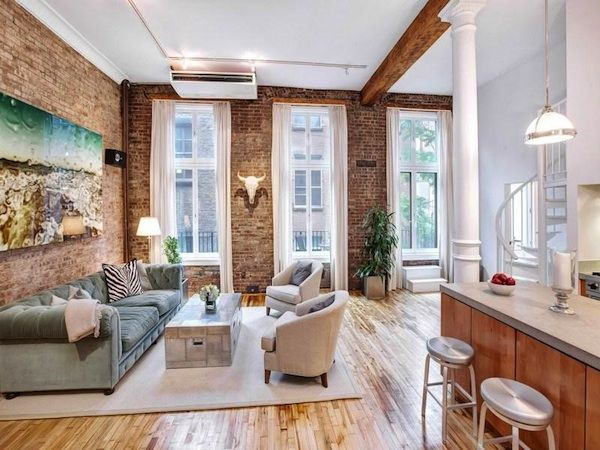 two 2 million soho co ops with exposed brick do battle street