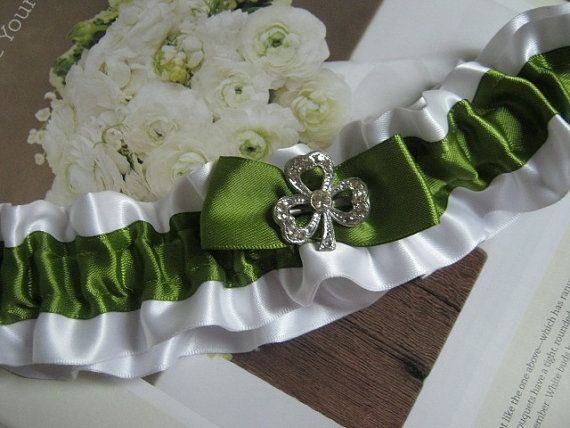 Irish Wedding Garter By Bridesstudio On Etsy 2800 This Would Be The Perfect Surprise