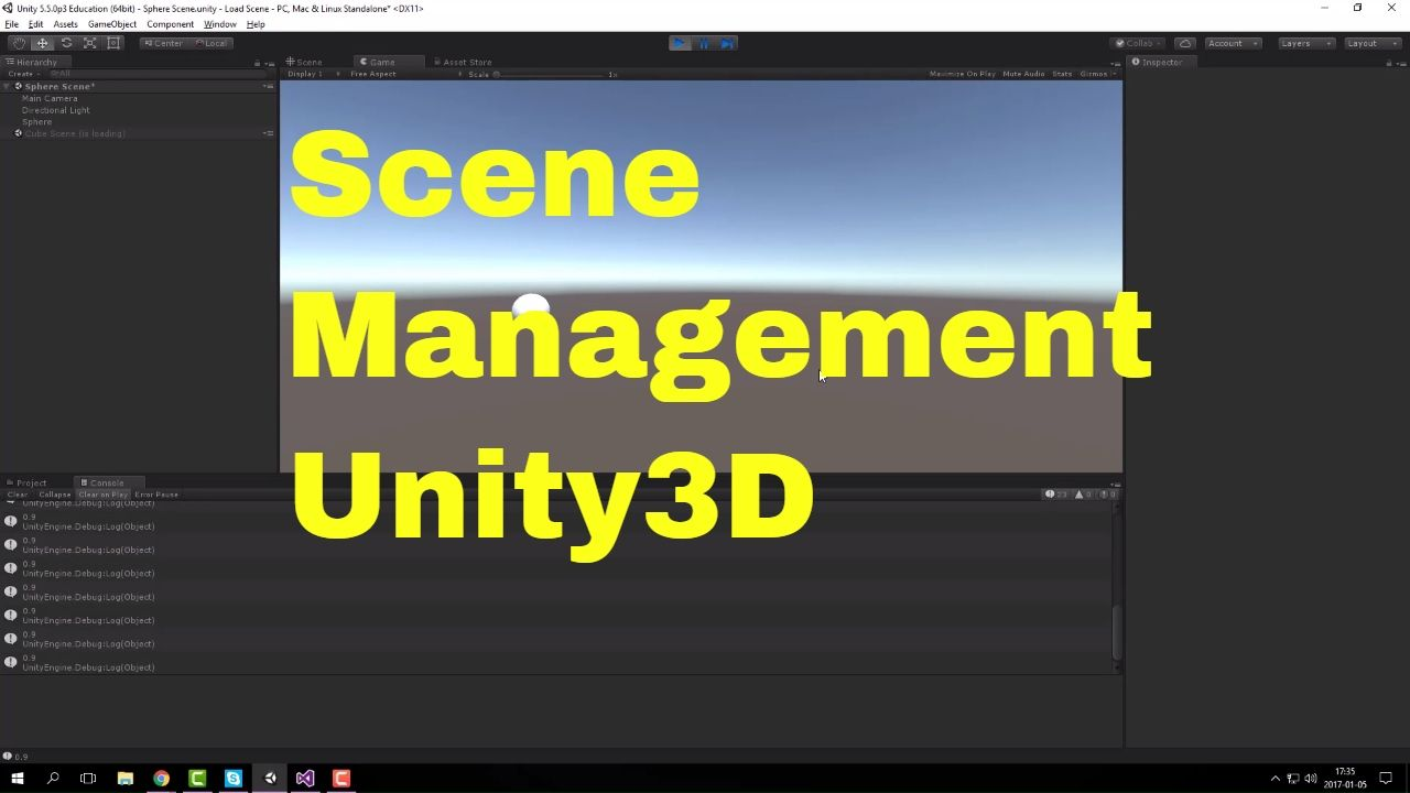 Unity3D - Load Scene and progress bar [ENG] | Neat Game Development