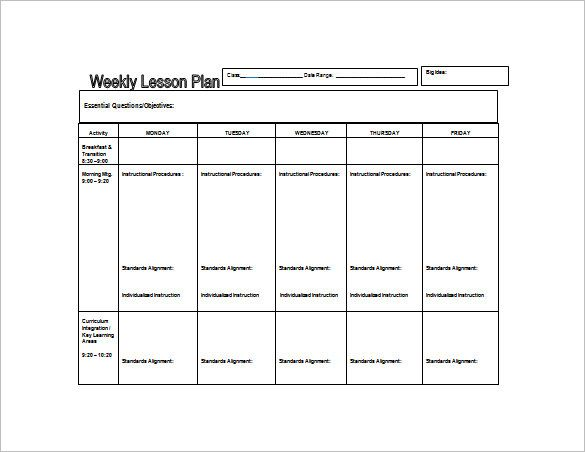 Pin By TIMBUKTU On School Stuffs Pinterest Lesson Plan - Lesson plan template for preschool