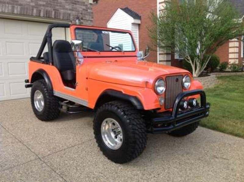 1979 Jeep Cj5 For Sale In Louisville Kentucky Old Car Online