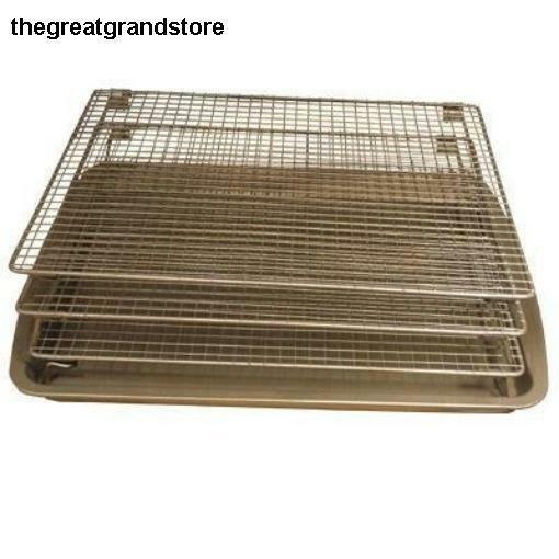 3 Tier Drying Rack Baking Pan Smoker Accessory Bbq Mesh