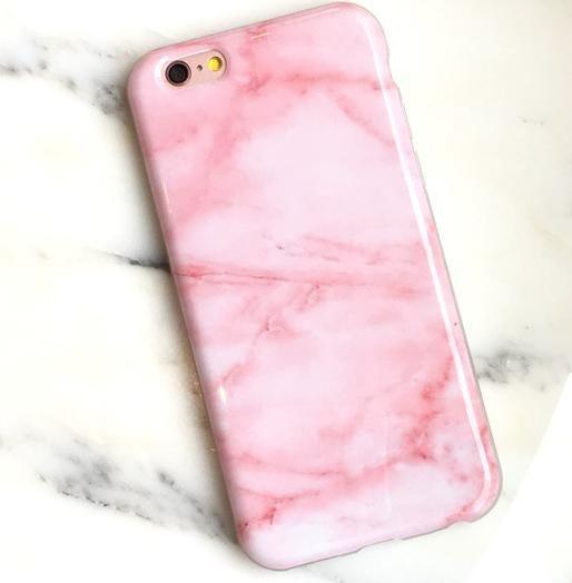 funda iphone 6 marmol rosa
