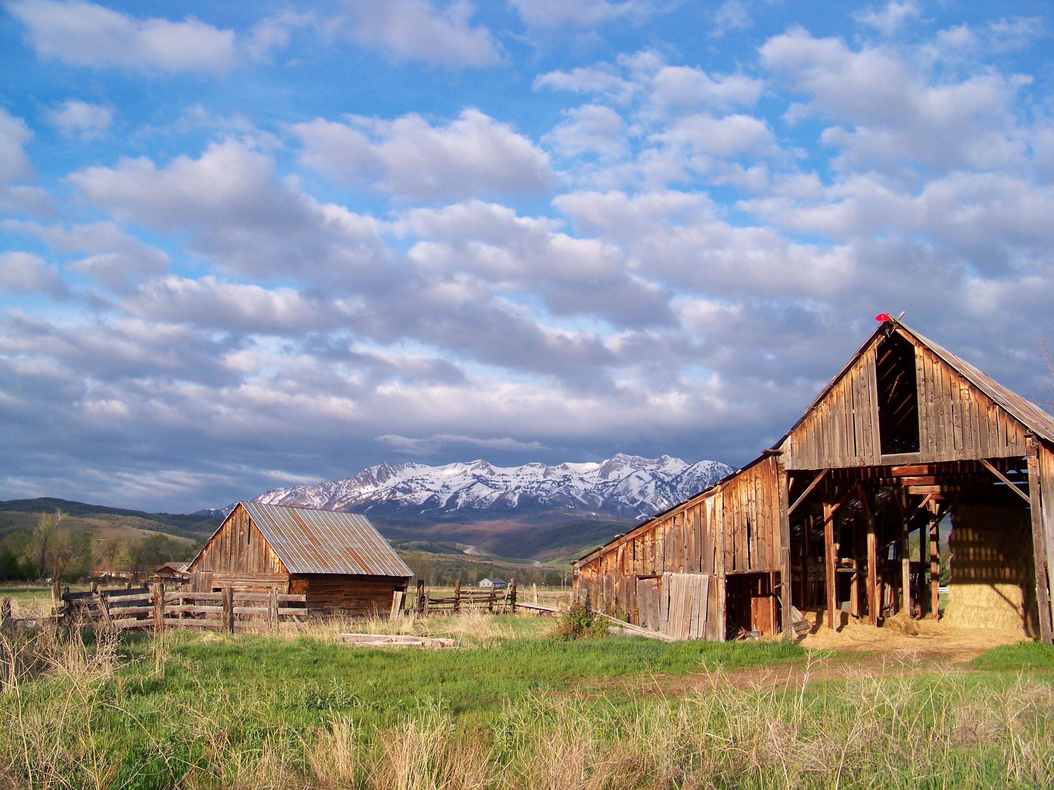 Old Barn Ogden Valley Utah By Greg Farley