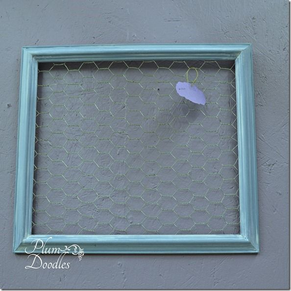 Milk Paint Frames with Chicken Wire | Pinterest | Chicken wire and ...