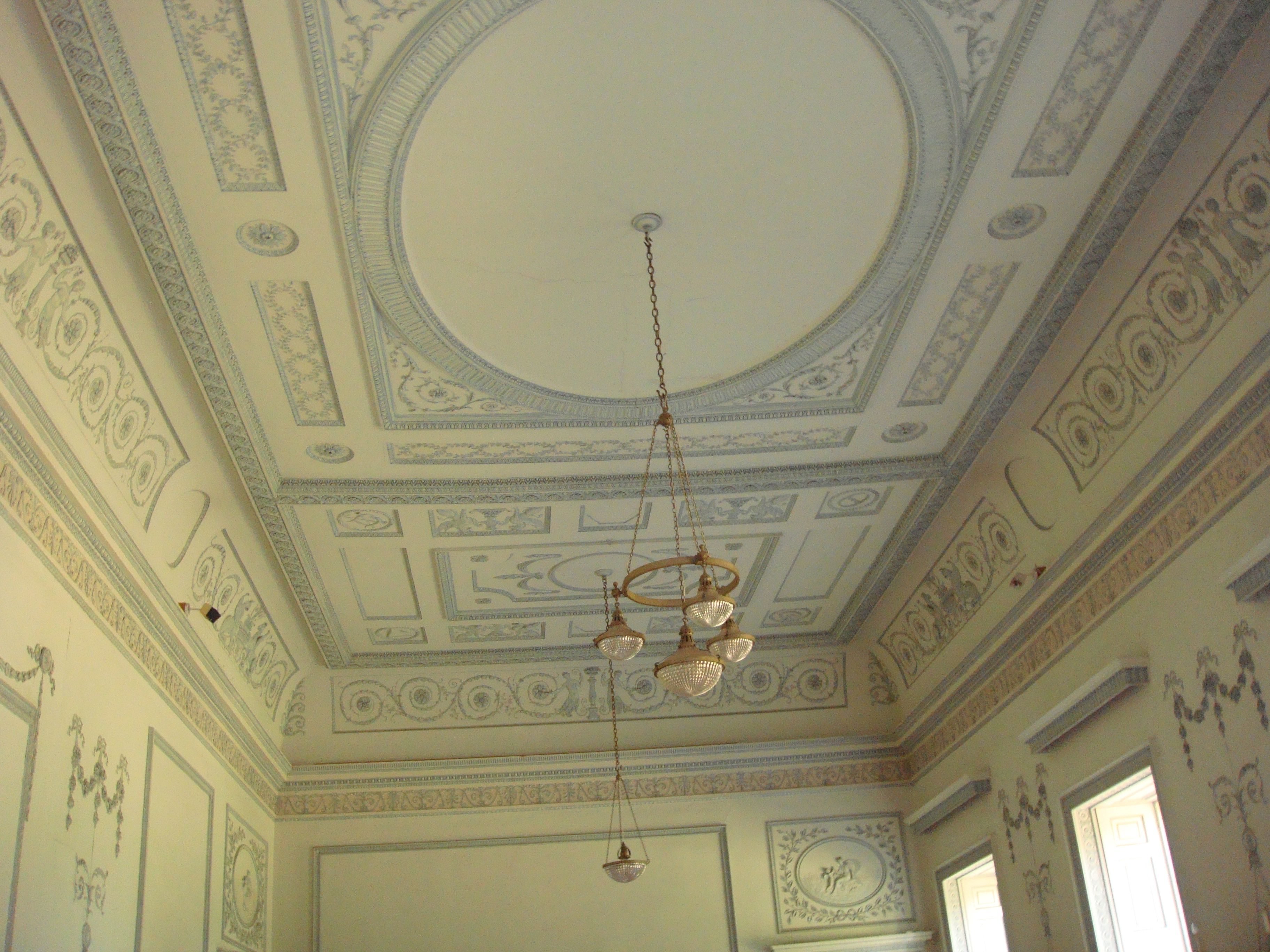 The ballroom at claremont house esher surrey designed for Interior design surrey