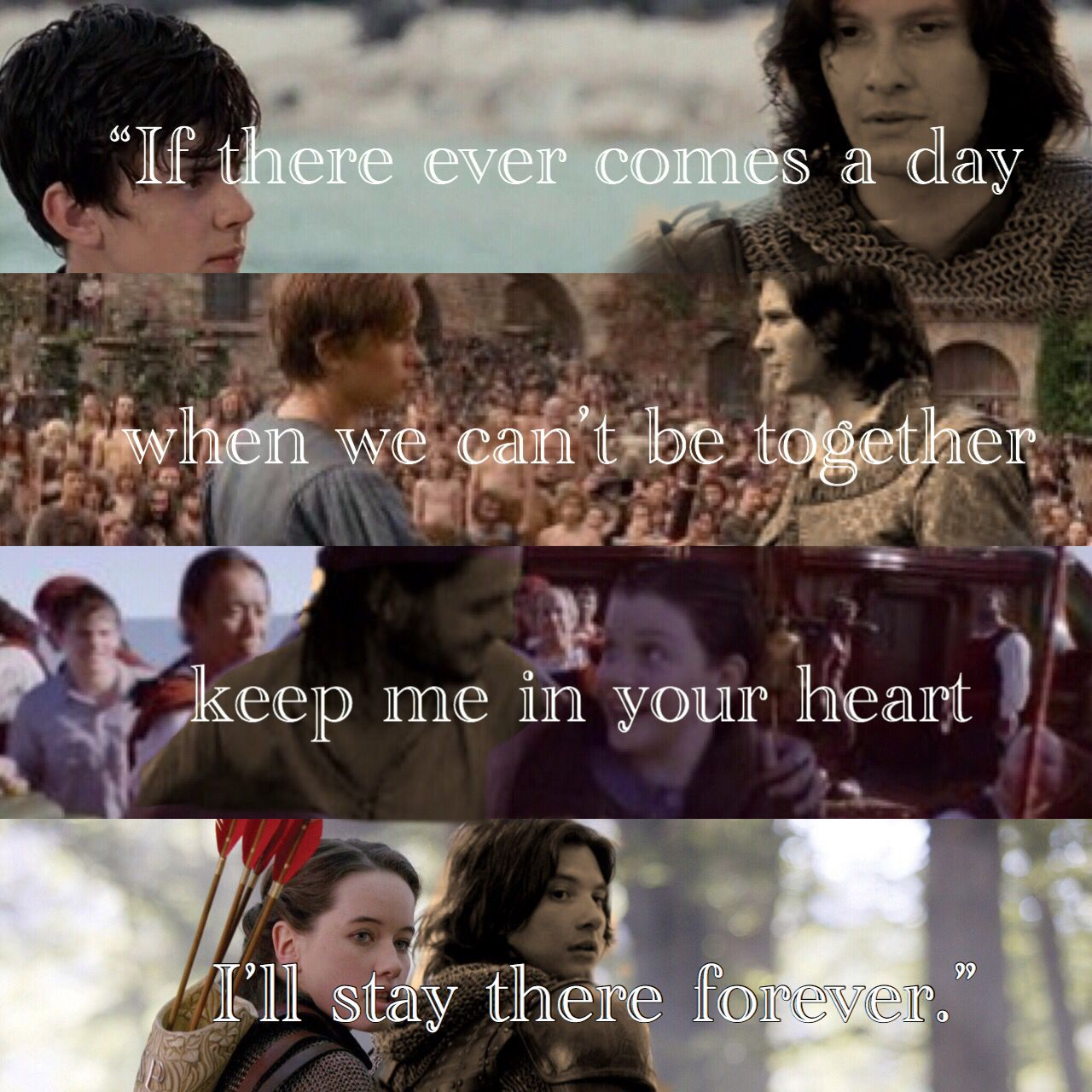 The Pevensies And Caspian Winnie The Pooh Quote Narnians