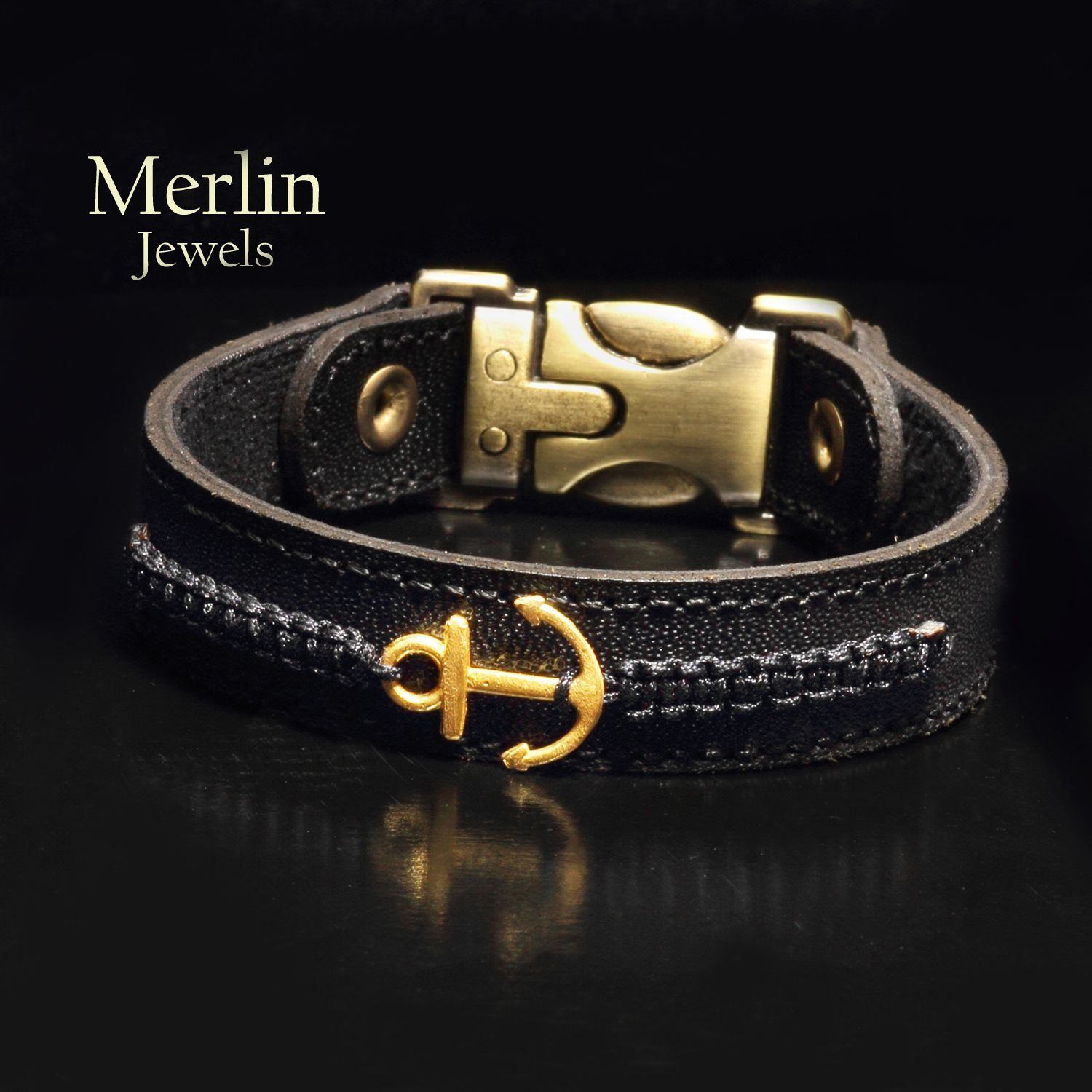 Gold on leather gold on leather bracelet leather bracelet leather