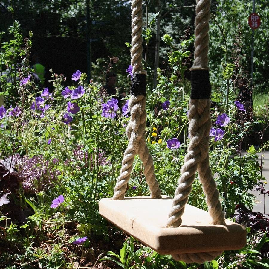 This Stunning Wooden Tree Swings Are Handmade In London