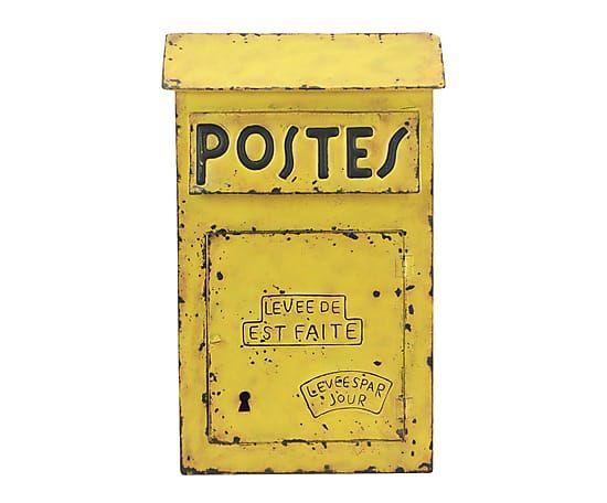28 portallaves de metal buz n amarillo compras westwing pinterest buz n amarillo y - Buzon vintage ...