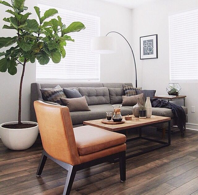 Traditional Living Room With Cb2 Grove Floor Lamp Wood Top Coffee
